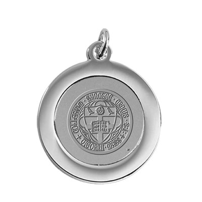 Pendant/Charm w/Holy Cross Seal Medallion
