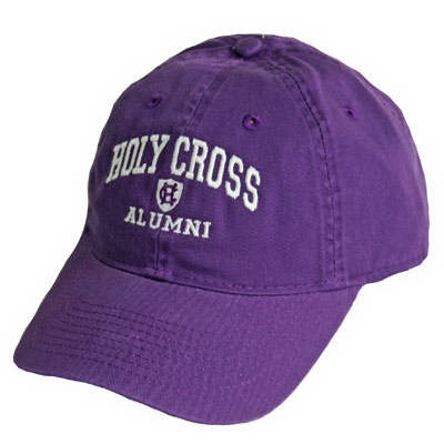 Image For Adjustable Holy Cross Alumni Cap by Legacy   88813