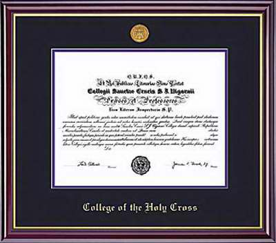 Image For Classic Diploma Frame - Windsor   64568