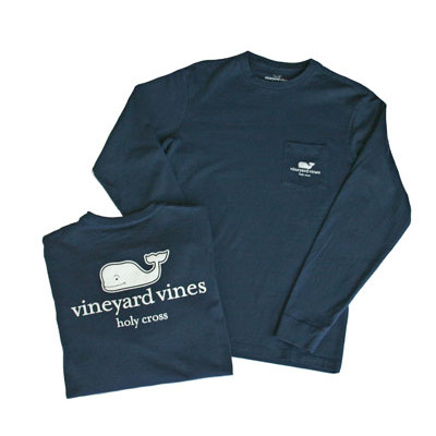 Image For Vineyard Vines Long Sleeve Pocket T-Shirt 92624