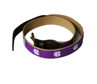 Image For Holy Cross Canvas Belt 89104