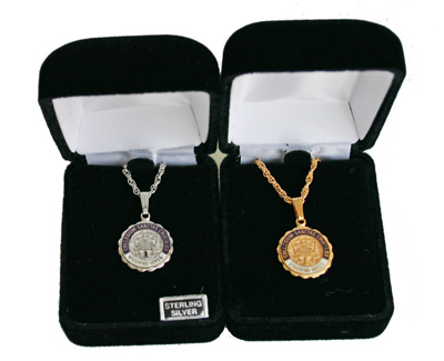 Image For Holy Cross Seal Necklaces 82111