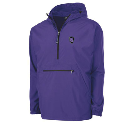 Image For Charles River Lightweight Pack-N-Go Pullover 2100421