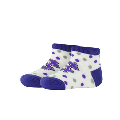 Image For Holy Cross Toddler Polka Dot Bootie 2100259