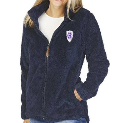 Image For Charles River Women's Newport Full Zip Fleece Jacket 2100398