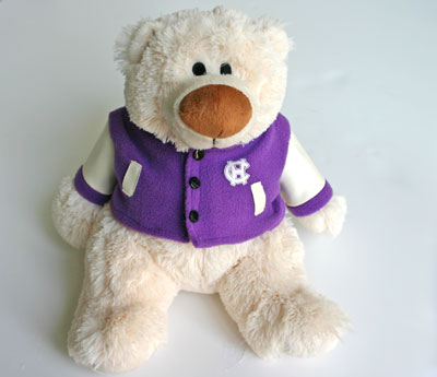 Image For Holy Cross Plush Bear 2096497