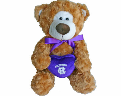 Image For Holy Cross Plush Heart Bear 2100680