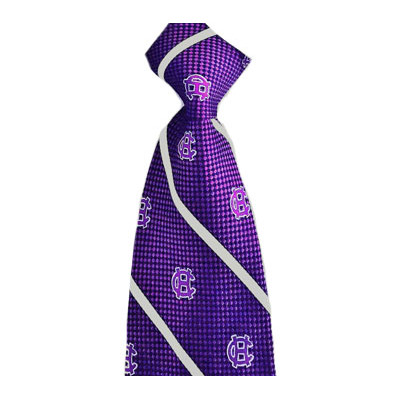 Image For Holy Cross Woven Stripe Silk Tie 2100678