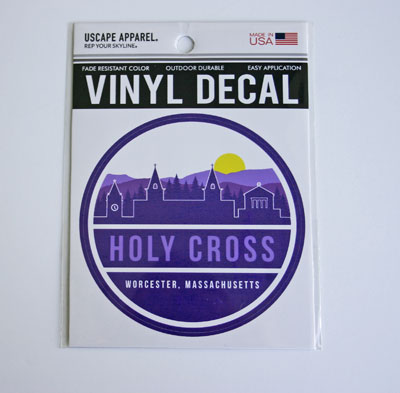 Image For Holy Cross  Skyline Uscape Vinyl Decal 2101163