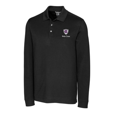 Image For Cutter & Buck Men's Advantage Long Sleeve Polo 2101534