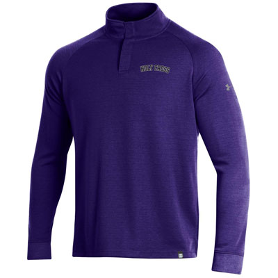 Image For Men's Under Armour Double Knit 1/4 Snap 2101438