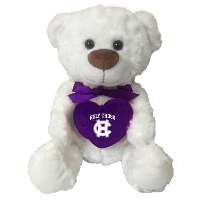 Image For Holy Cross Plush Heart Bear 2101672