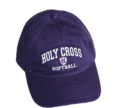 Image For Adjustable Holy Cross Softball Cap by Legacy 2088271