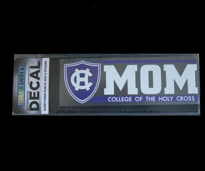 Image For Holy Cross Mom Car Window Sticker- Outside Application 21017